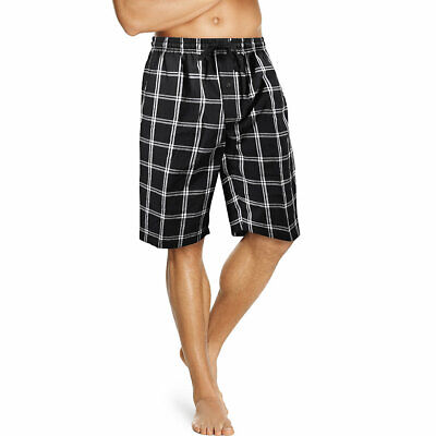 Plaid Woven Shorts (Hanes Men's Woven Plaid Shorts 2-Pack)