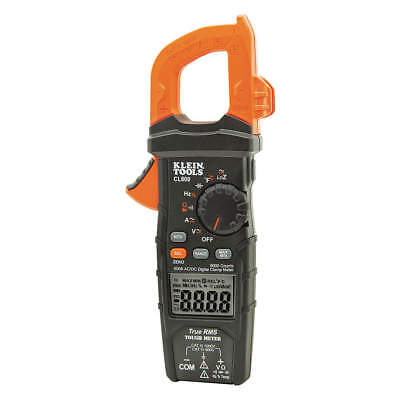Klein Tools Clamp Meterdigitallcd6000uftrms Cl800