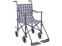Foldable wheelchair