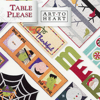 Halloween Part Two (TABLE PLEASE PART TWO Quilt Applique Projects Halloween Autumn Christmas)
