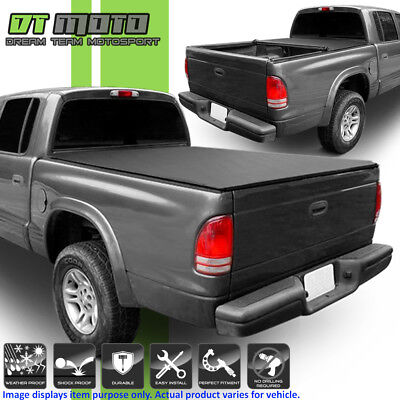 Roll Up Tonneau Cover For 1997-2004 Dodge Dakota Regular/Club Cab 6.5