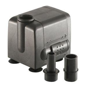 160 GPH Aquarium Submersible Pump Fish Tank Powerhead Fountain Water Hydroponic