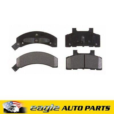 Fits Chevrolet Corvette 88 89 90 91 92 93 94 95 Front Rear Ceramic Brake Pads
