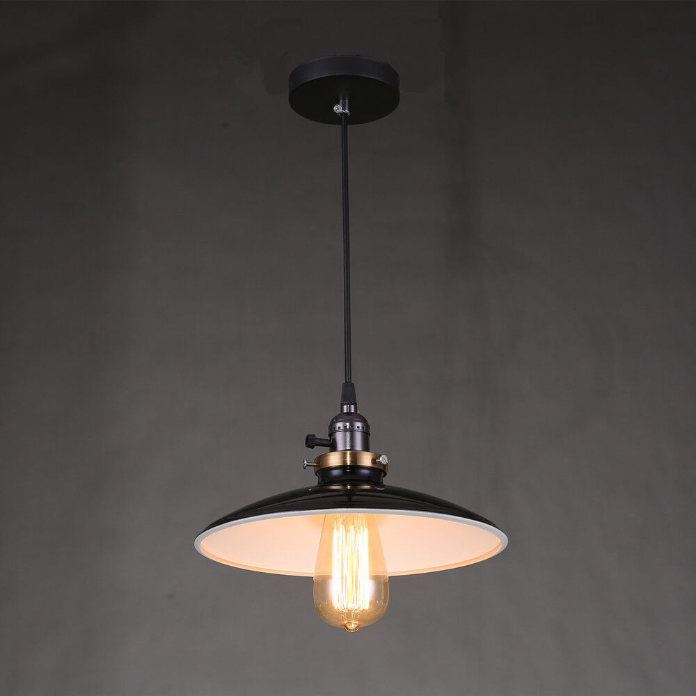 Ceiling light fittings black lamp shades retro chandelier for Pictures of ceiling lights