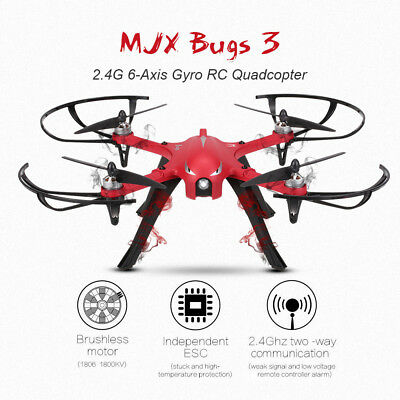MJX Bugs 3 2.4G 6-Axis Gyro Brushless Motor Independent ESC Drone Support C4000