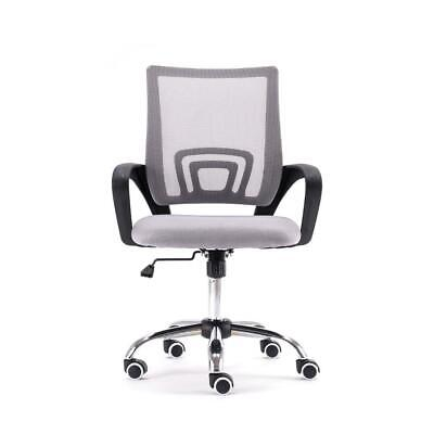 New Modern Office Executive Chair Ergonomic Mid-back Mesh Computer Desk Chair