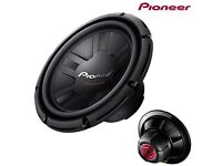Pioneer 12 Inch Open Free Air Car Subwoofer Bass Sub Speaker - 1000W