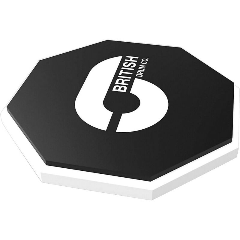 "British Drum Co. 10"" Octagonal Practice Pad 10 in."