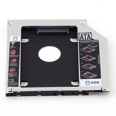 For Apple MacBook Pro Unibody Second HD-caddy SuperDrive 2nd Hard Disk HDD SSD Macbook Pro Superdrive