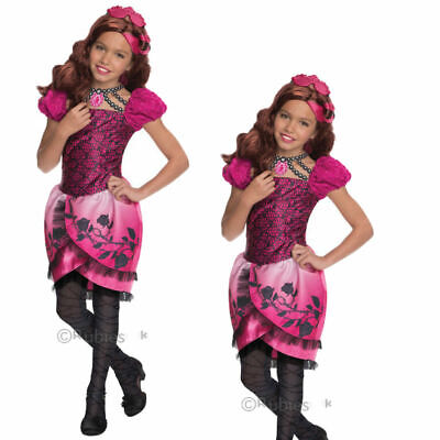 Girls Briar Beauty Ever After High Fancy Dress - Briar Beauty Kostüm Ever After High