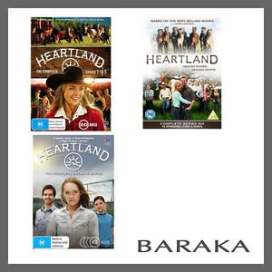 Heartland Complete Season Series 1, 2, 3, 4, 5, 6 & 7 DVD Box Set 1 - 7 R4