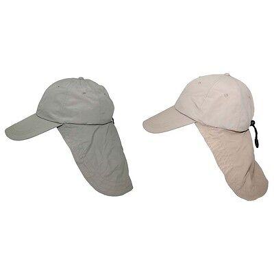 Cap Sahara Nackenschutz Belüftungslöcher Baseball Kappe Wüstenhut UV-Schutz