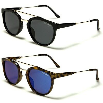 New BeOne Polarized Women Men Round Vintage Designer (New Designer Sunglasses)