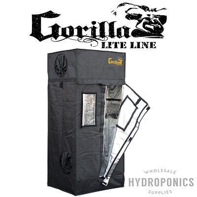 Gorilla Grow Tent - LITE LINE -  2′ X 2.5′ X 5'7″ BEST GROW TENT GGT (Best 5x5 Grow Tent)