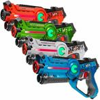 Light Battle Active Lasergame Set - 4 Pack