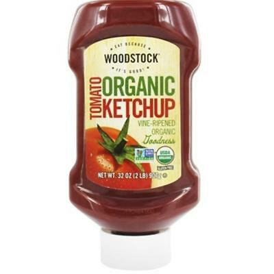 Woodstock Farms-Organic Tomato Ketchup (12-32 oz bottles)