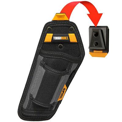 Toughbuilt Hammer Holster Tool Belt Pouch 2 Pocket & Loops / TB-CT-31-A