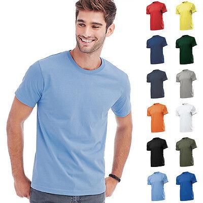 Stedman T-Shirt Herren Shirts Comfort Rundhals 11 Farben Mann Men 185g/qm S-XXL
