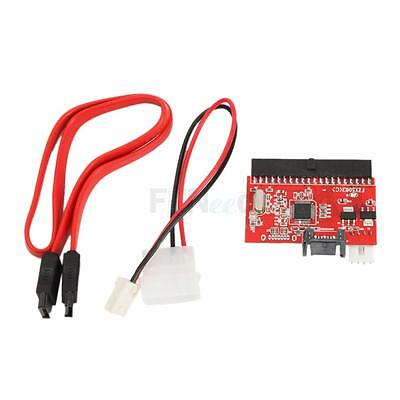 Us Ide To Sata Serial Ata Converter Adapter For Host Drive New Red Free Ship