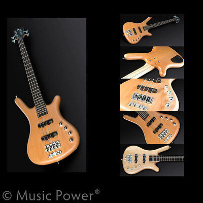 Warwick Rockbass Corvette Basic 4 String Bass Guitar Passive Natural Short Scale on Rummage