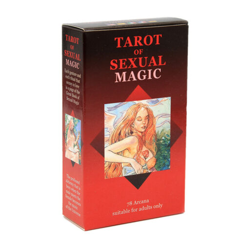 Sexual Magic Tarot Deck 78 Cards Divination Prophet Cards Family & Party Playing