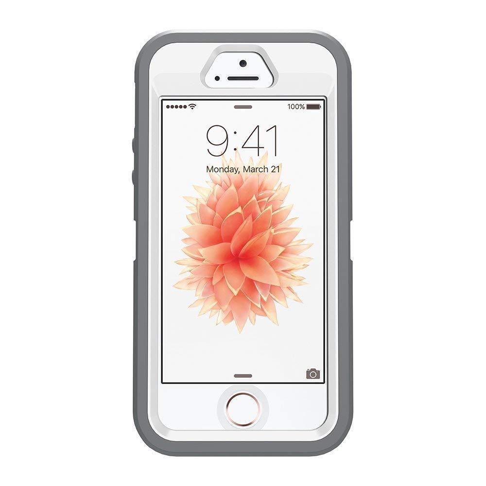 OtterBox DEFENDER IPhone 5 5S SE Case Only Glacier (White/Gunmetal Grey)