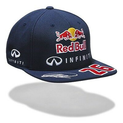 CAP Infiniti Red Bull Racing Formula One 1 F1 Daniil Kvyat No.26 Flat Peak NEW!