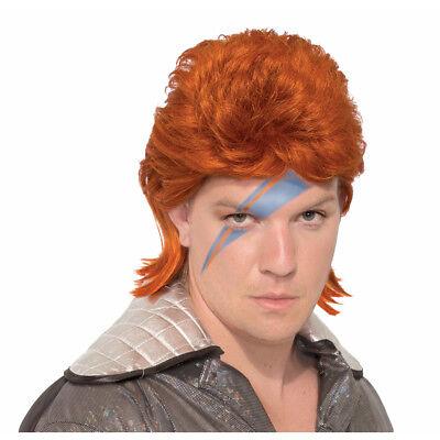 Adult Ziggy Stardust Bowie Costume Wig - Ziggy Stardust Wig