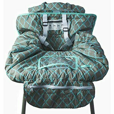 Shopping Cart Cover And High Chair For Baby Toddler, Grocery Cushion With Safety