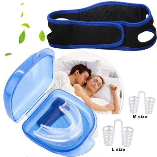 Anti Snore Solution Adjustable Stop Snoring Chin Strap Mouth