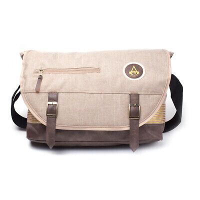 Crest Messenger (Official ASSASSINS CREED Origins Crest Messenger Shoulder BAG School Uni Bag)