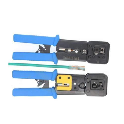 Heavy Duty Crimper Crimp Tool for Pass-Through Connector (PassThroughCrimper)