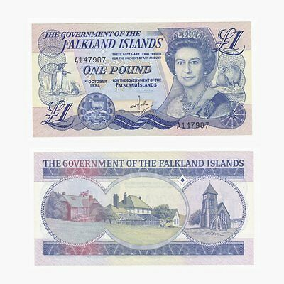 FALKLAND ISLANDS - £1 Banknote - P13a - UNC.