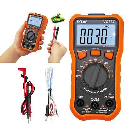 Hot Sale Digital Multimeter 6000 Counts Trms Auto Range Dc Ac Current Meter Ncv
