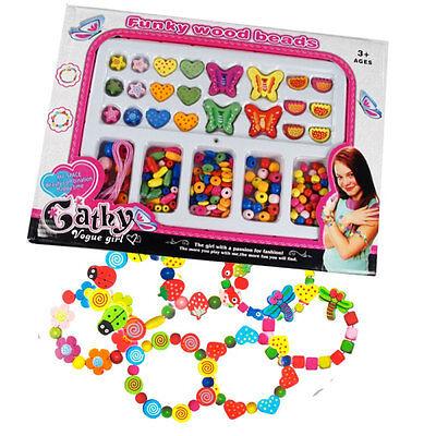 Funky Wooden Beads Set - Brand New Pocket Money Toys