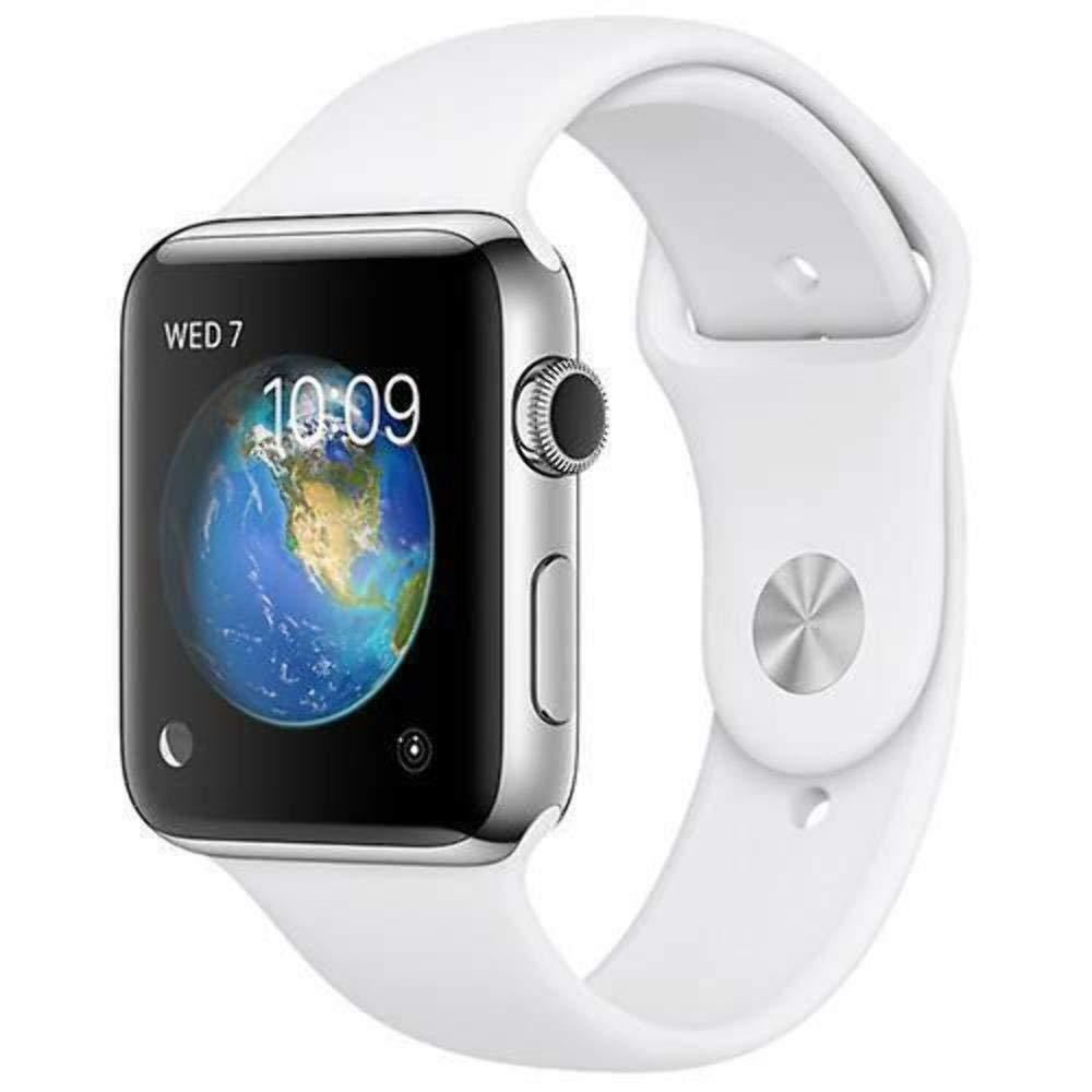 Apple Watch Series 2 42mm 38mm WiFi Stainless Steel Sport Band Smartwatch White