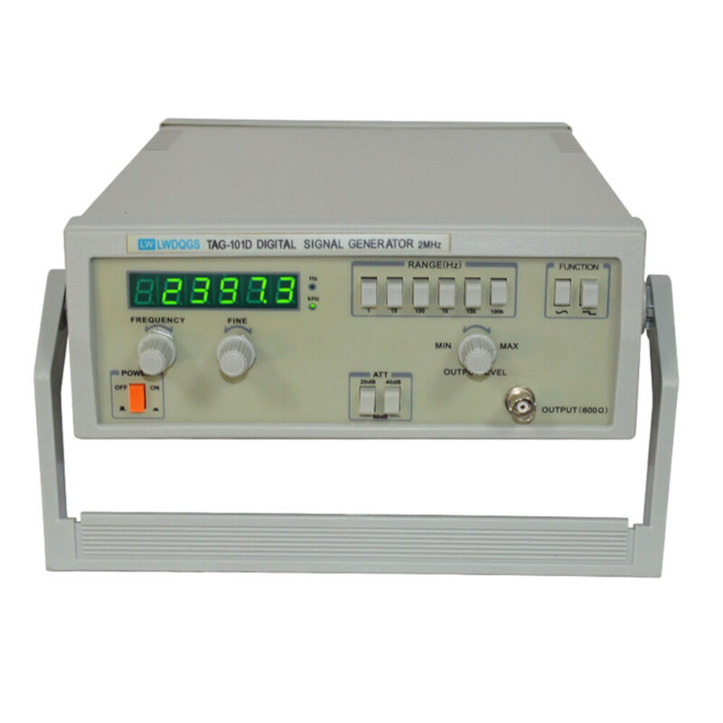 Low Frequency Signal Generator 0.2Hz~2MHz Sinuswelle TAG-101D Signalgenerator US