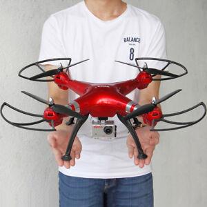 RC Quadcopter Drone Syma X8HG 8MP Camera 1080P Video UAV Set Height +4GB Card