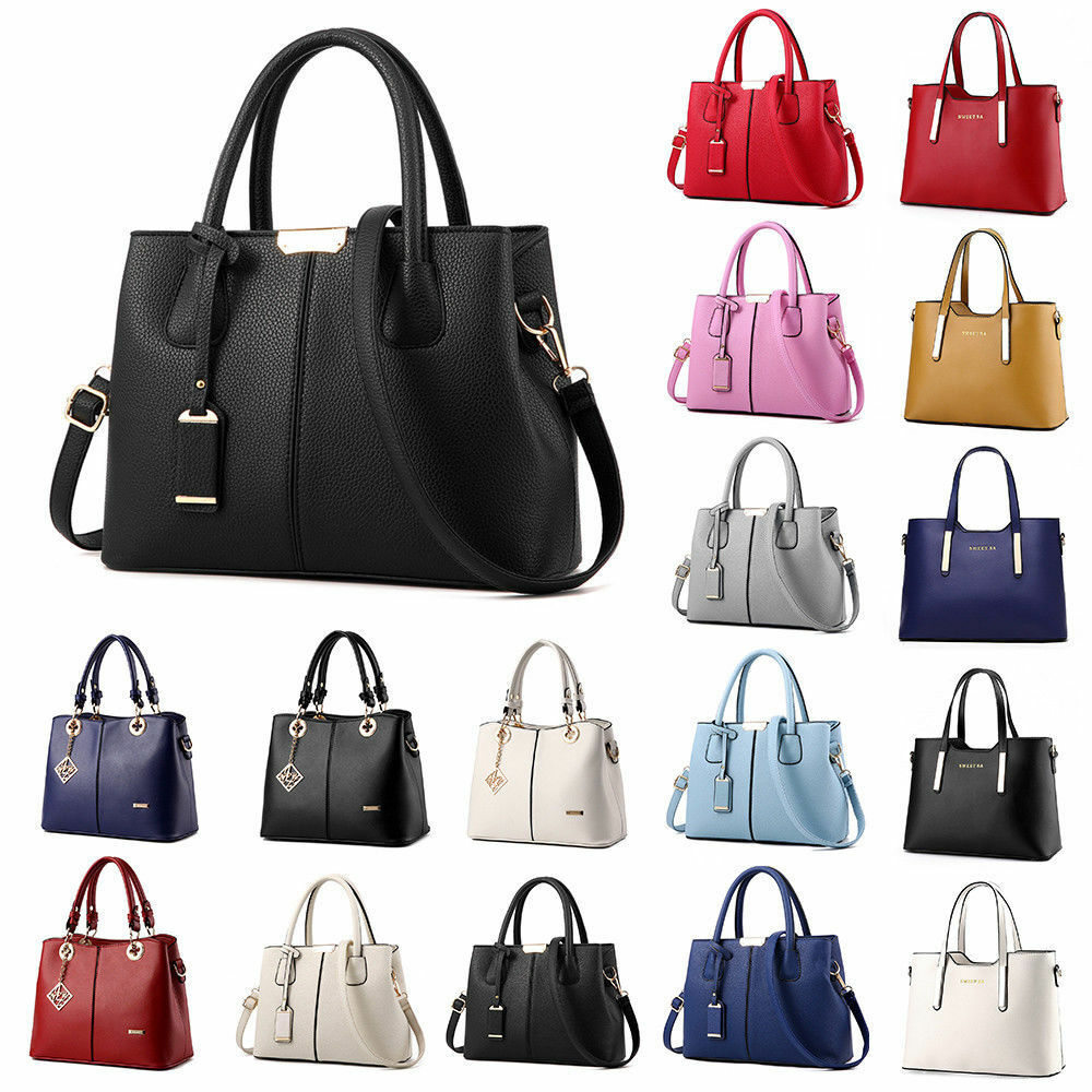Bag - Women Lady Handbag Shoulder Bags Tote Purse Leather Messenger Hobo Bag Satchel