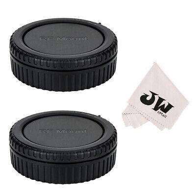2pcak Body Cap + Rear Lens Cap for Canon RF mount Lens & Cameras Canon EOS R -