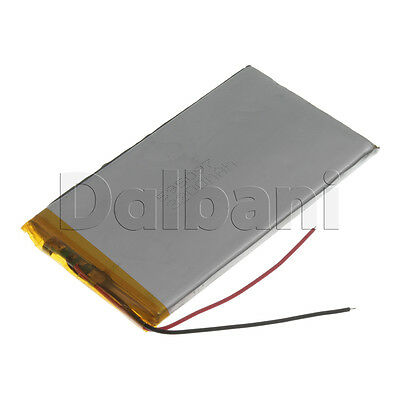 New 3.7V 3200mAh Internal Li-ion Polymer Built-in Battery 100x57x5mm 29-16-0782