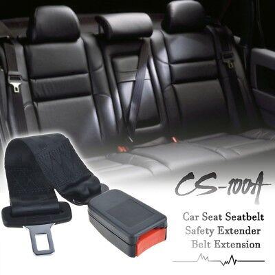 "Universal 14"" Car Seat Seatbelt Safety Extender Belt Extension 7/8"" Buckle"