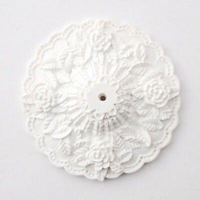 Dollhouse Miniature Large Cast Resin Ceiling Rose Medallion 1:12 Scale 2 (Medallion Resin)