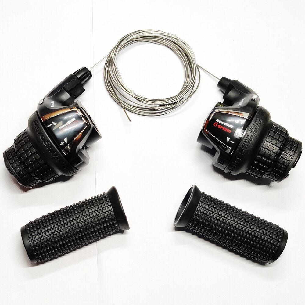 Shimano RevoShift SL-RS35 Twist Grip Shifter -3/6/18 Speed B