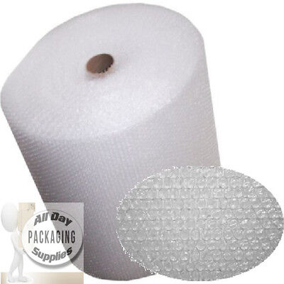 2 ROLLS OF BUBBLE WRAP SIZE 750mm (75cm) HIGH x 100 METRES LONG SMALL BUBBLES