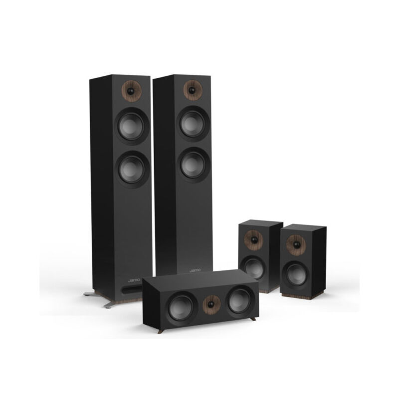 Jamo Studio Series S 807 Hcs-blk Black Home Cinema System