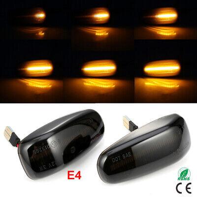 2x Dynamische LED SEITENBLINKER BLINKER für Mercedes W210 R170 W208 C208 SB19 DE