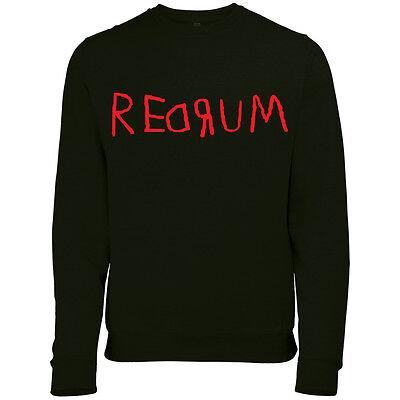 Redrum Assassino The Shining Halloween da Uomo Stampato Costume Felpa Maglione