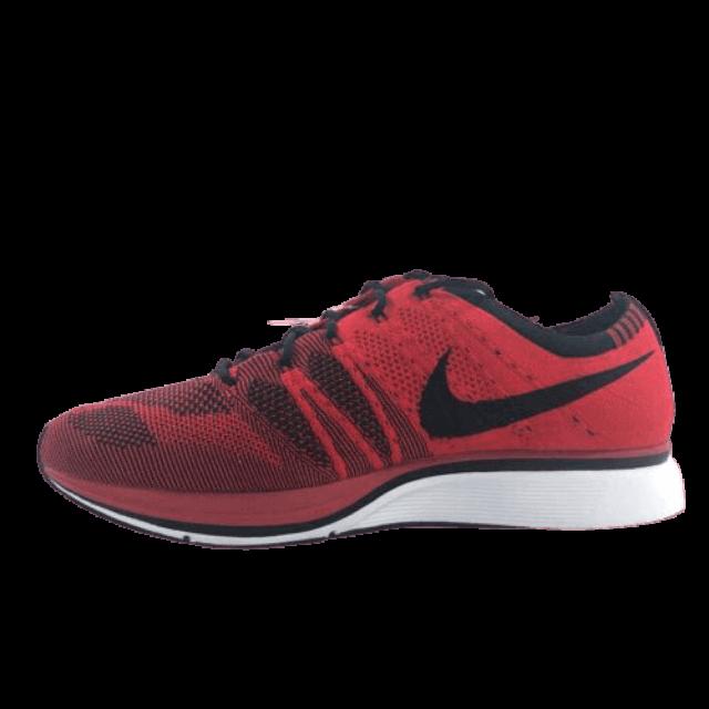 Nike Flyknit University Red Black