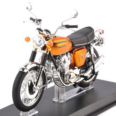 1/12 Honda Motorcycle Model DREAM CB750 Yellow Diecast Motobike Vehicle Toy for sale  China
